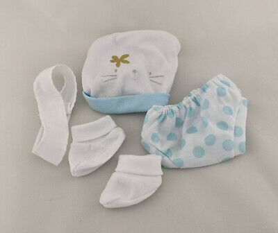 My First Baby Annabell Brother Blue Doll Clothes Layette Fits 14 Inch / 36 Cm