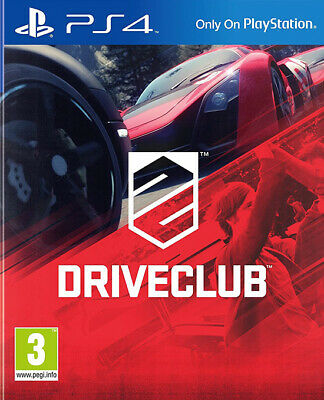 DRIVECLUB ~ PS4 (in Great Condition)