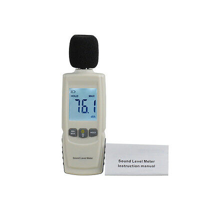 Test Technologies LCD Digital Sound Noise Level Describe Meter 30-130dBA GT