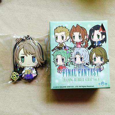 Yuuna Final Fantasy - Rubber Strap - Rare - Anime - Square Enix