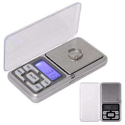 Hot Accurate 500g/0.1g Digital LCD Electronic Jewelry Pocket Gram Weight Scale