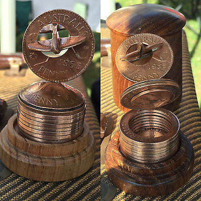 Australian Penny Spitfire/Plane - Choose the Year - Unique Gift
