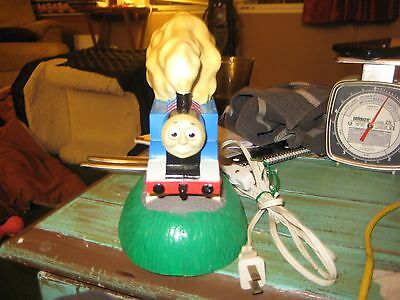 Vintage Thomas the Train Light Up Lamp 1992