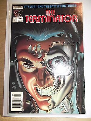 The Terminator Now Comics 1988 (based on movie)  FN