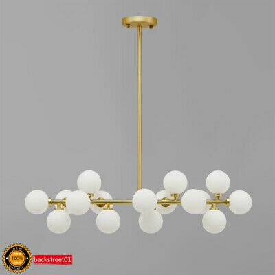 Modern Modo 16 Round Glass DNA LED Chandelier Pendant Lamp Ceiling lamp Fixture