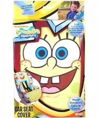 SpongeBob SquarePants Car Seat Cover. Delivery is Free