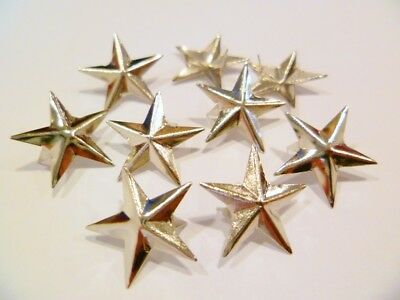 500 Star-decorative rivets 17mm silver,rust-free,for Textile,Clothing,Decoration