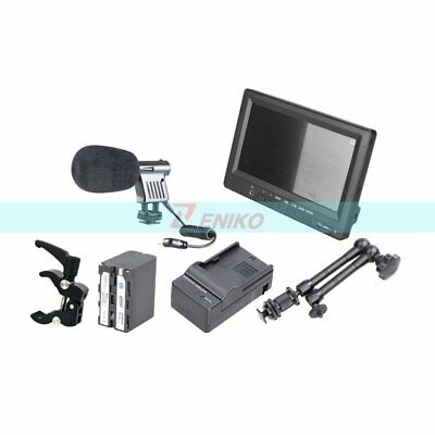 "FEELWORLD FW678 HD 7"" HDMI LCD Monitor + Battery & Charger + Magic Arm +Clamp"
