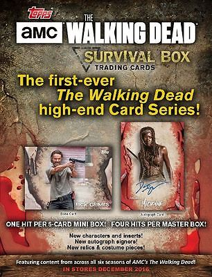 Walking Dead Survival 2016 Master-Box mit 4 Mini-Boxen (Hobby) OVP