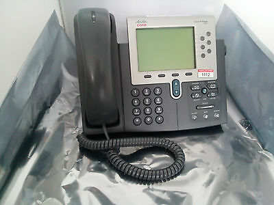 Cisco IP Phone CP-7962 G 6-Button Gebraucht Used Voip w/o Lic SCCP Firmware