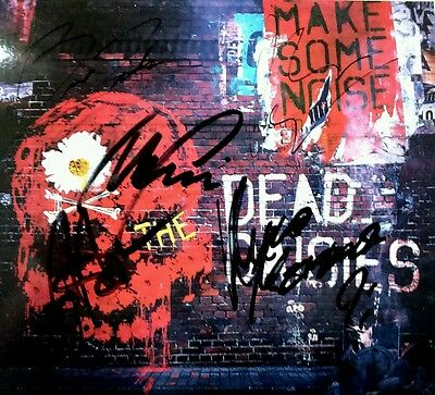The Dead Daisies All Members Make Some Noise Postcard Signed Autographed (No Cd)