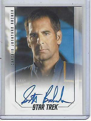 Star Trek 50th Anniversary Scott Bakula Captains Autograph Card