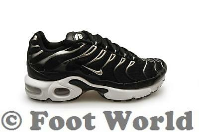 the latest 7771d bf7d4 Juniors Nike Tuned 1 Air Max Plus TN (GS) - 655020097 - Black Silver