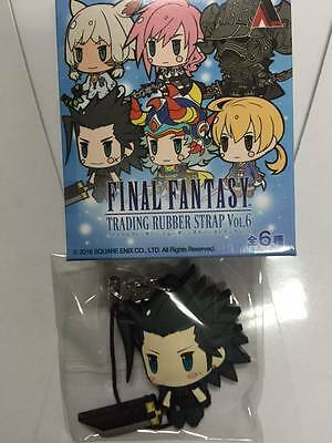 Zack Fair - Final Fantasy - Rubber Strap - Rare - Anime - Square Enix