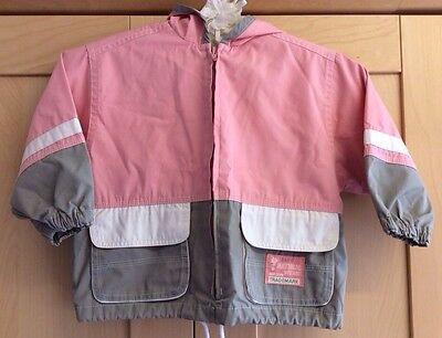 Marks and Spencer Girls Coat Hood Jacket Anorak Age 18-24 Months M&S 1-2 Years