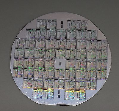 Extremely Rare Silicon Wafer 1985 nCube 10 Supercomputer (microprocessor,chip