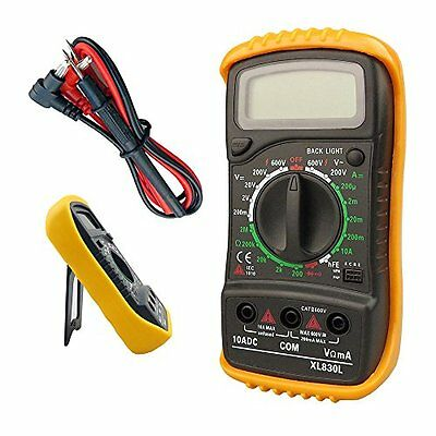 NEW TAHA Digital LCD Multimeter Voltmeter Ammeter OHM AC DC Circuit Checker Test