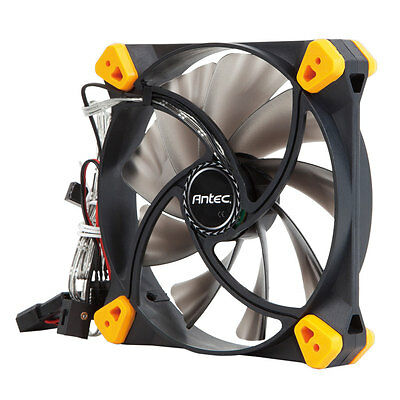 Antec TrueQuiet True Quiet 120mm, 2 Way Case Fan, 8.9 - 19.9 dBA, 35.83 CFM