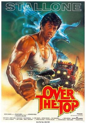 Over the Top Movie POSTER 11 x 17, Sylvester Stallone, D, LICENSED NEW