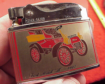Vintage MODEL T 1903 ROSEN LIGHTER IN BOX LAKE CITY AUTO PARTS LAKEWOOD OHIO