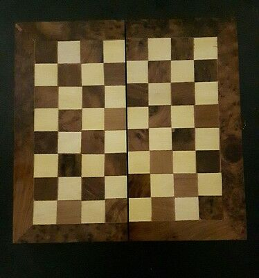 Beautiful Thuya Wood Chess Board/box