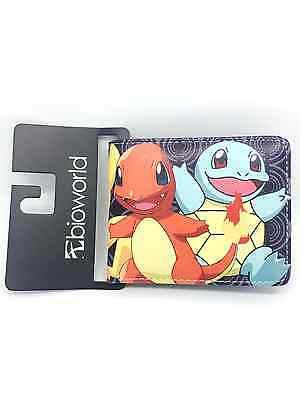NEW Anime wallet Pokémon Pikachu&Bulbasaur boys and girls two fold wallet