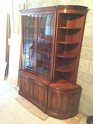 Mahogany Antique Display Cabinet