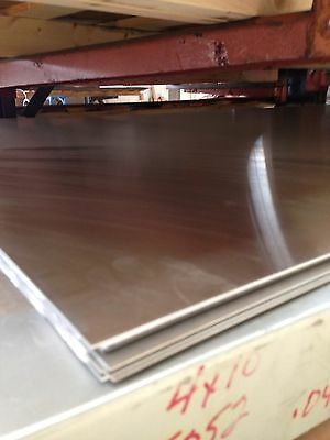 "Surplus Aluminum Sheet Plate, .080"" x 24"" x 36"", 4pc lot, 3003 alloy"