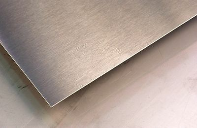 """Overstock Stainless Sheet, #3 Brushed, 16 gauge .063"""" x 20.5"""" x 60"""" w/ pvc"""