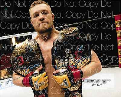 Conor Mcgregor signed UFC MMA Champion 8X10 photo picture poster autograph RP 3