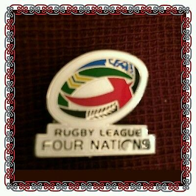 Rugby League Four Nations Badge 2016