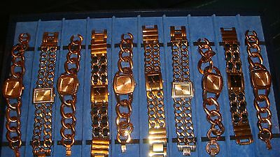 Trade Only Job Lot Of 10 X  Mixed Names  Watches 100% Gen   ,