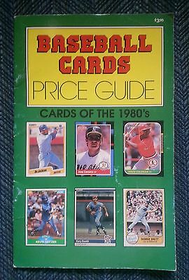 Baseball cards price guide:  cards of the 1980s price guide.
