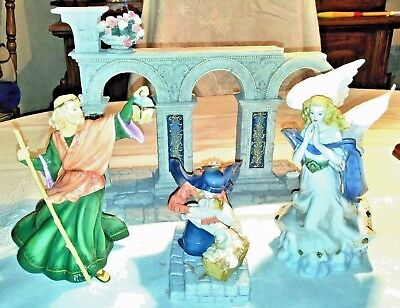 VATICAN NATIVITY COMPLETE Lmt Ed numbered ENESCO MILLENNIUM EDITION