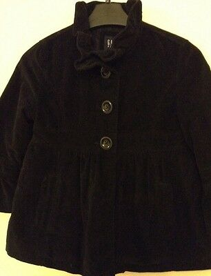 "From""Gap Kids""Size 10-11 Yrs Black Girls Casual Jacket 100% Cotton"