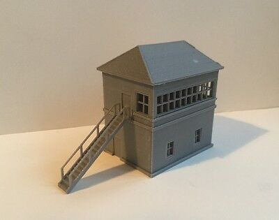 DAPR - N Gauge Model Railway Scenery Building Kit - Signal Box