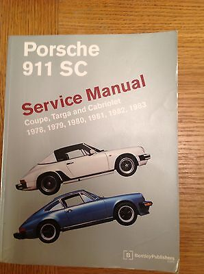 Porsche 911 Carrera Service Manual 1978-1983