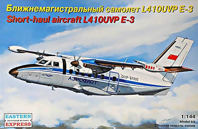1:144 Eastern Express #144100  L-410UVP E-3 Short-Haul Aircraft AEROFLOT