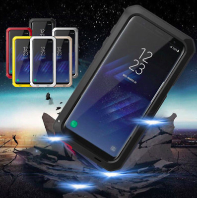 SHOCKPROOF Case Aluminum Gorilla Metal Cover For Samsung Galaxy S8 S9 Plus Note