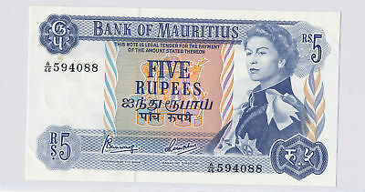 RC0076 Mauritius 1967  5 Rupees  combine shipping