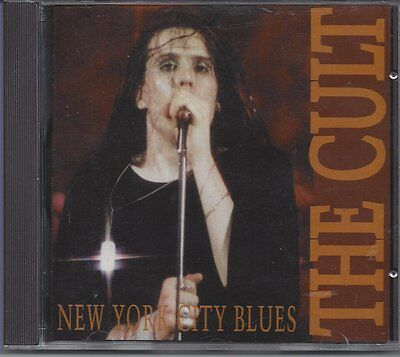"The Cult ""New York City Blues"" London 1989 1cd OOP Rare Autographed Ian Astbury"