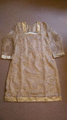 Pakistani shalwar kameez dress size M