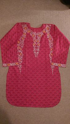 Pakistani/Indian dress shalwar kameez size M
