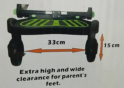Buggy board Pram Board Maxi Size with connectors Fit Hauck Pram
