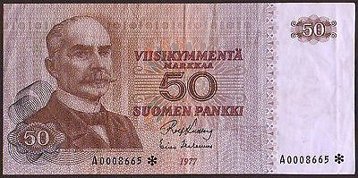 Finland  50 Markkaa  1977   Replacement  P108r1