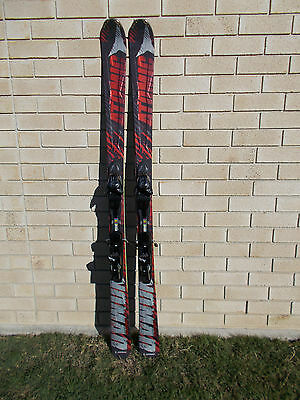 ATOMIC SKIS - New. 164 cm  Nomad , with new  Atomic XTO 10 Bindings.