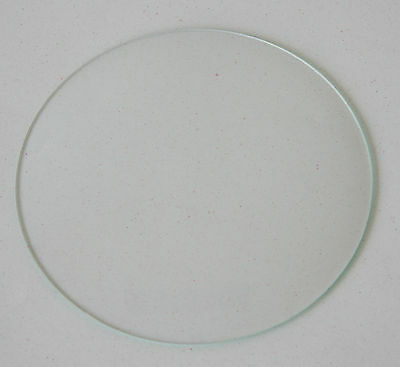 "3 12/16"" 95mm New Round Convex Clock Glass Clock Parts Repair Convex Glass"