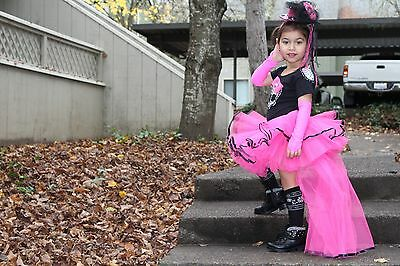 Hand Made exclusive Monster High  Costume  Tutu Dress for Toddler