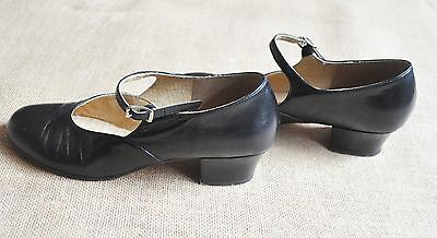 """Original Style - Brand New """" Bloch"""" Leather Character Shoes Low Heel"""