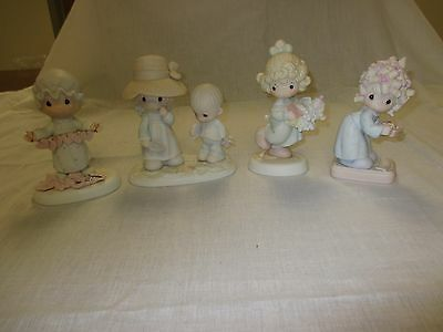 """Lot of 4 """"Precious Moments"""" Collection Figurines (Lot #2)"""